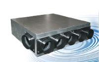Распределительный блок вход Ф125 мм / выход 6хФ75 мм